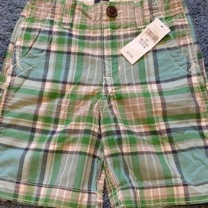 💜3/$20 Baby GAP boy's plaid shorts